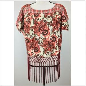 Michael Michael Kors Top S Small Fringe